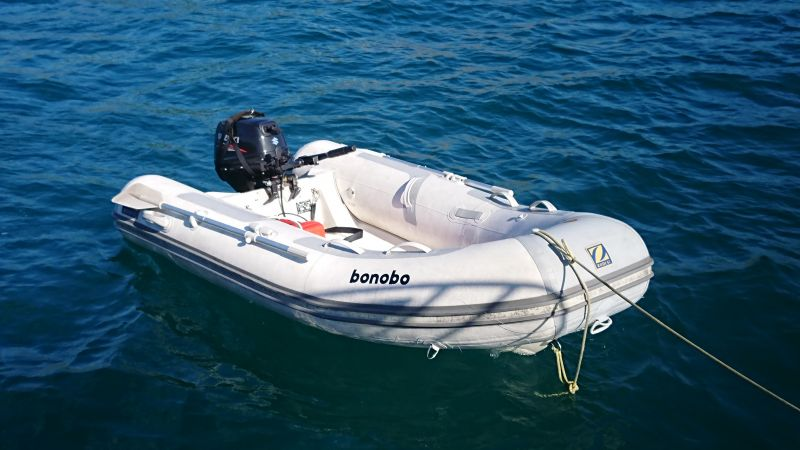 Zodiac and outboard for sale