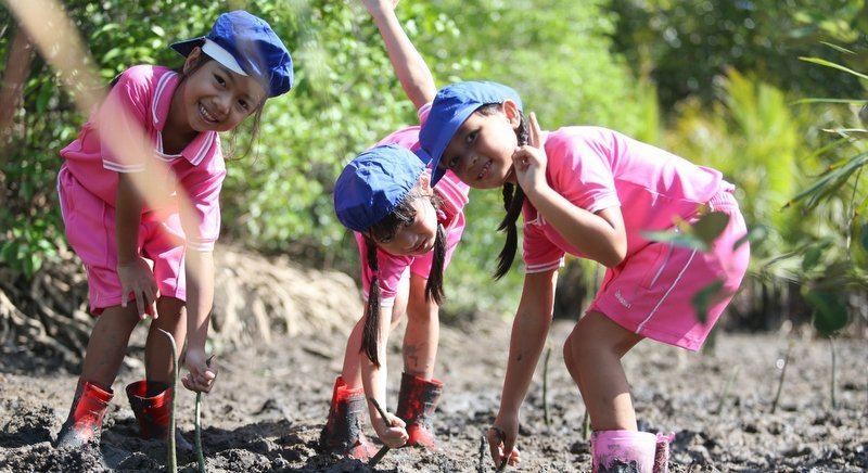"The 12th annual ""Greening Community"" initiative saw 3,000 trees planted in one day. Photo: Supplied"