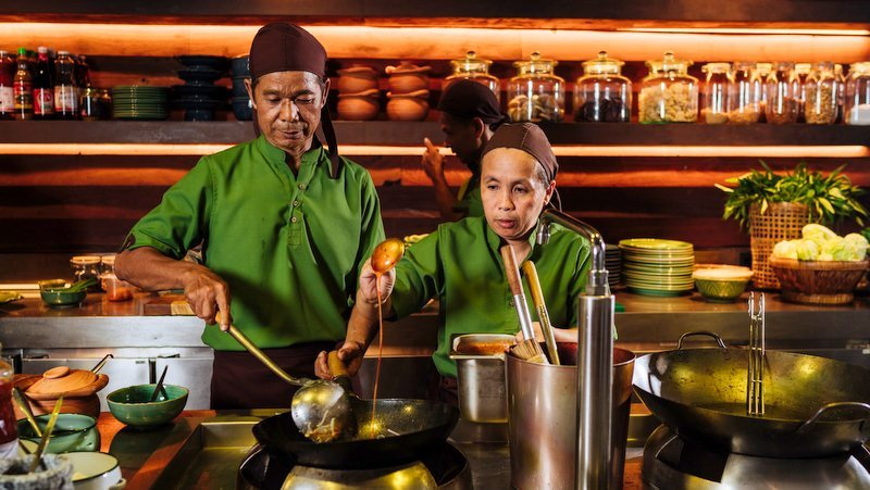 Ta Khai at Rosewood is an elegant showcase for authentic southern Thai cuisine