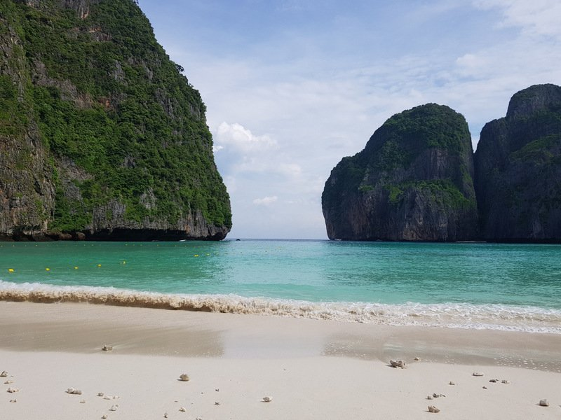 The new view from Maya Bay, without the hordes of tourists. Photo: DNP