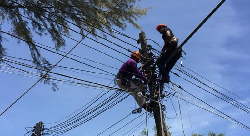 Power supply restored to main areas in Patong