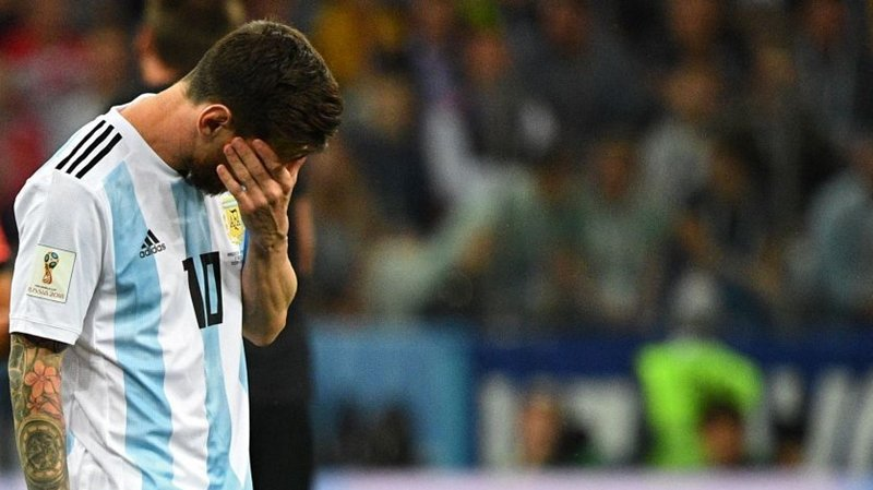 Argentina staring at World Cup exit after Croatia humbling