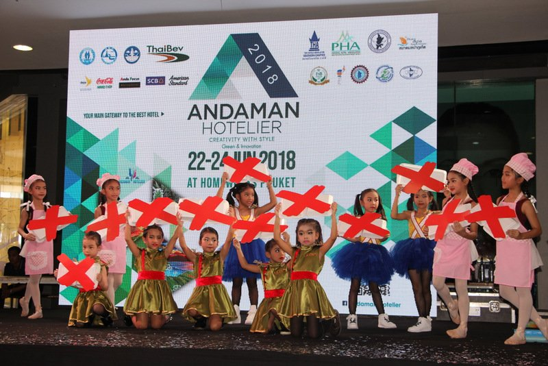 The annual Andaman Hotelier and Tourism Fair got underway yesterday (June 22). Photo: PR Dept