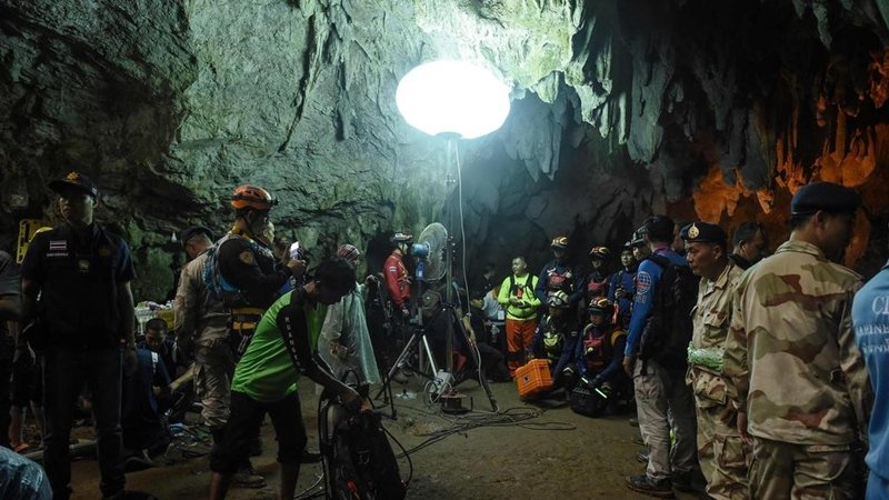 Cave rescue enters key phase