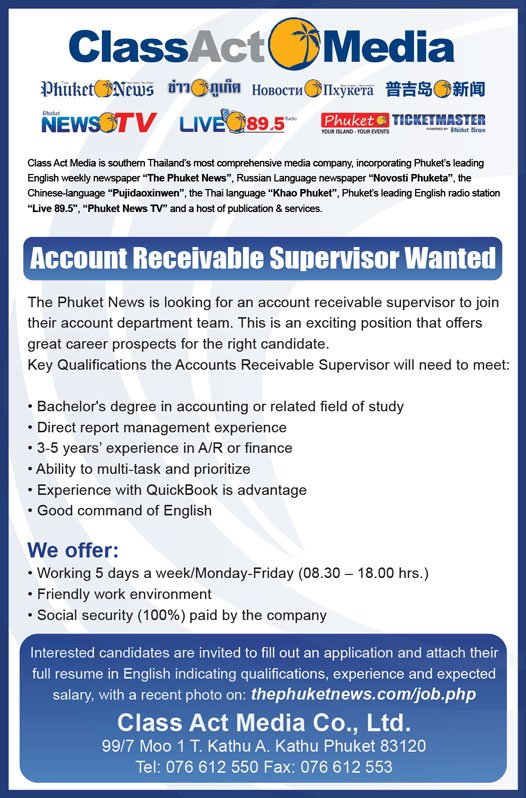 Account Receivable Supervisor