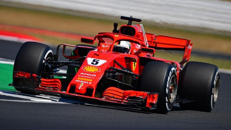 Ferrari fastest in Friday afternoon practice at Silverstone
