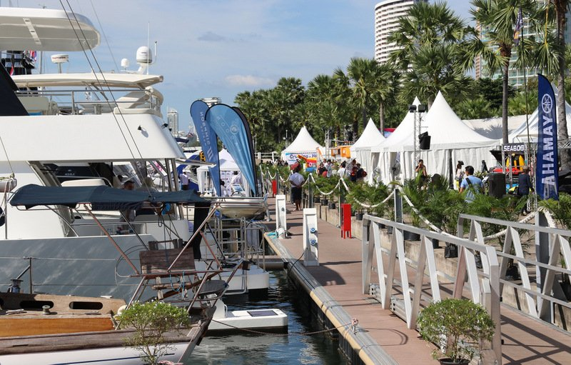 Last year was a record year for the Ocean Marina Pattaya Boat Show with almost 6,000 visitors from 22 countries attending.