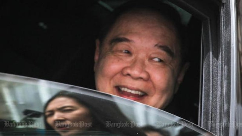 The National Anti-Corruption Commission needs more time and details on the watch scandal involving Deputy Prime Minister Prawit Wongsuwon. Photo: Bangkok Post / File