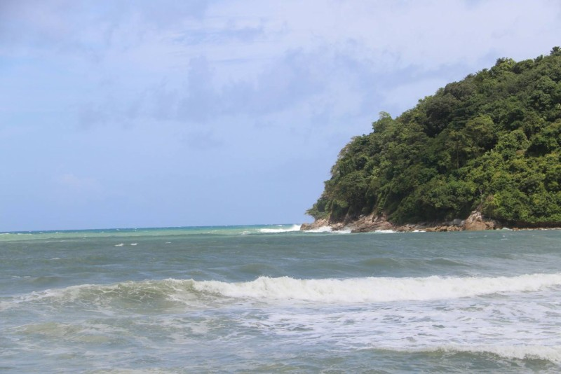 The beach in front of the estuaries and the island immediately offshore are also of concern. Photo: PR Dept