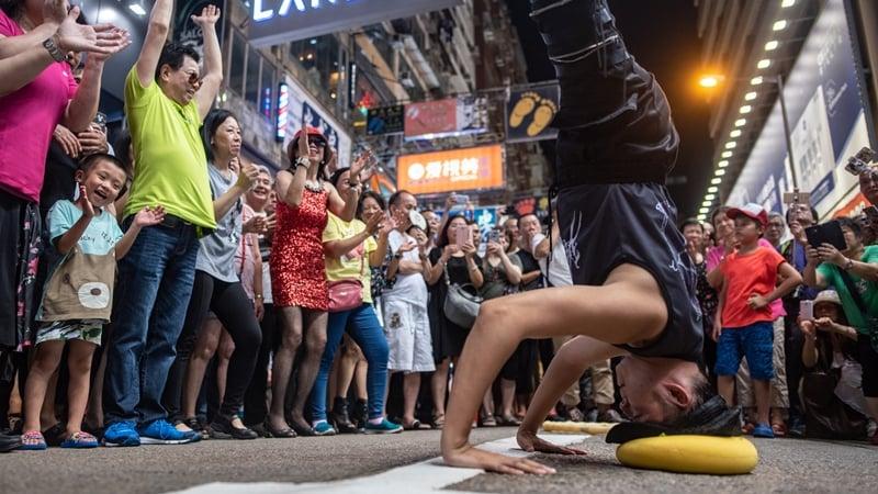 Hong Hong's buskers take a final bow