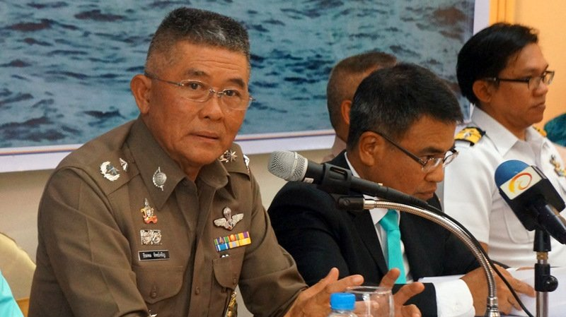 Five face charges for Phoenix, Serenata sinkings, Phuket Police Chief confirms