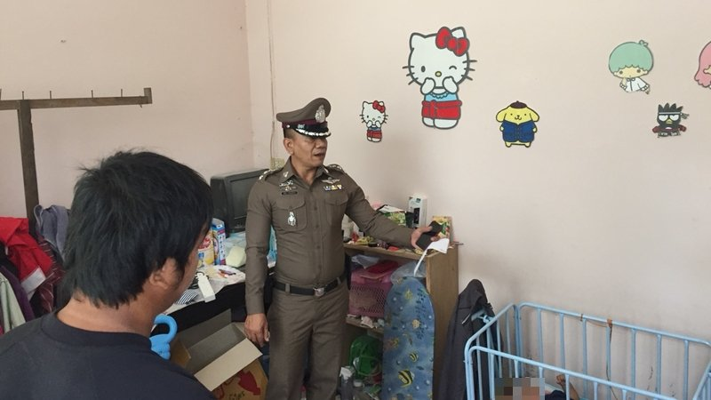 Step-father charged over Phuket baby's death
