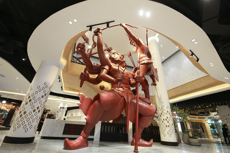 The B20-billion 'Central Phuket' mall is now open. Photo: Supplied