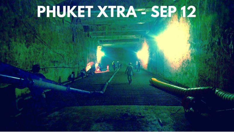 PHUKET XTRA: VIDEO: Chalong Underpass by April? Smuggling a Porsche? Maya Bay to re-open! || Sept. 12