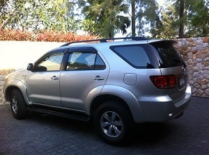 SUV car for Rent.
