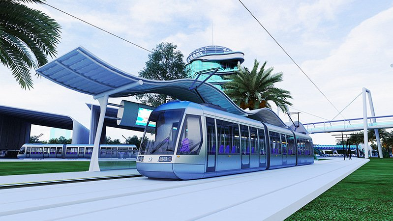 Phuket's light-rail system will be open to the public by 2023, officials have assured. Image: OTP