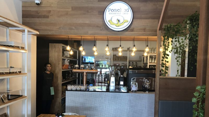 Poached has a fresh and stylish interior design