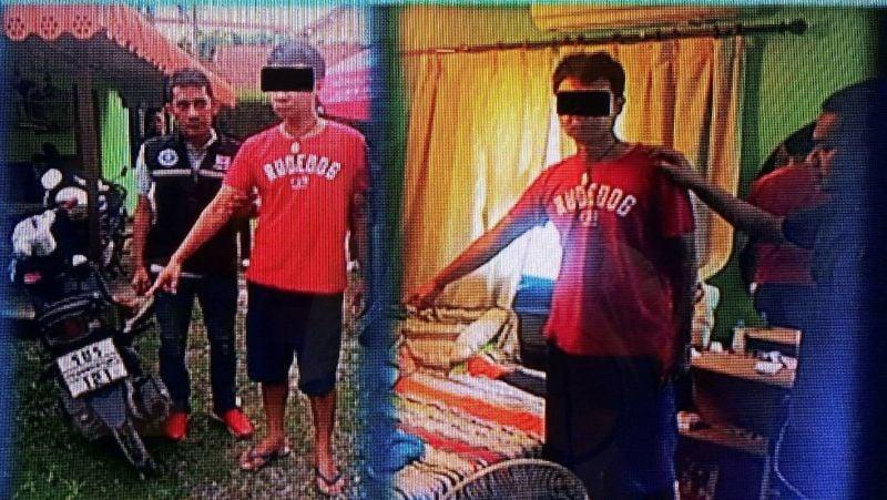 Amnag Atjan, 40, was arrested in Phuket on rape charges yesterday (Nov 9). Photo: Eakkapop Thongtub