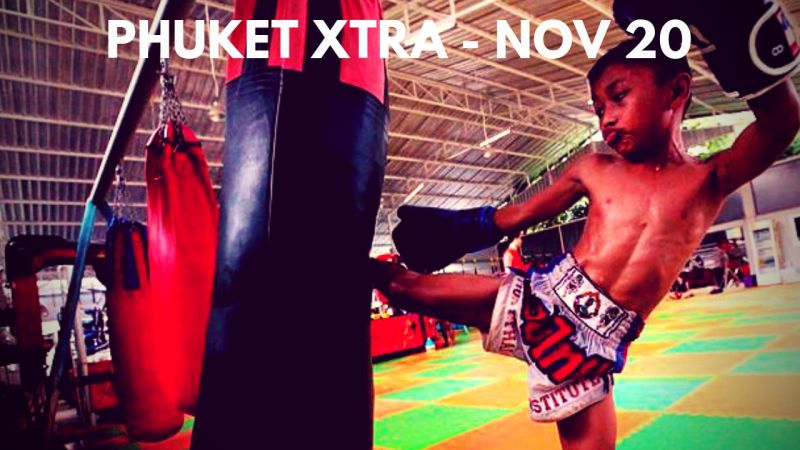 PHUKET XTRA: VIDEO: Shot at a market? Kid fighters 'should comply'! Tackling plastic waste and air pollution! || Nov. 20