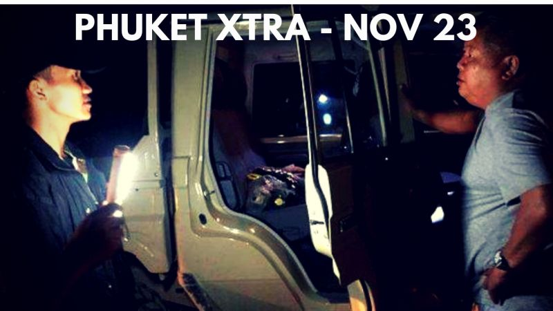 PHUKET XTRA: VIDEO: Road works causing accidents? Immigration Drive Thru opens! New mega-station! || Nov. 23