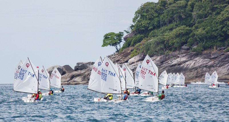 The International Dinghy Classes. Photo: Guy Nowell