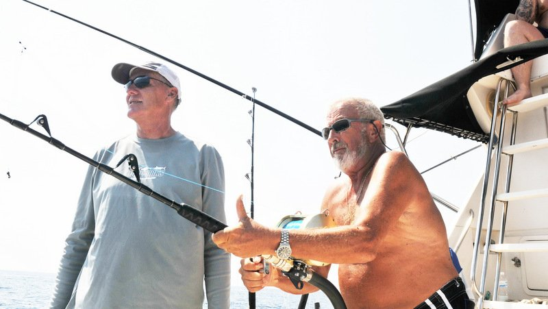 John Wilson MBE was truly a fishing legend with an incredible passion for fishing which he loved to share. Photo: Supplied