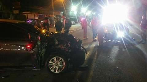 The driver of the car, Sudapon Nontawat, will be charged for reckless driving causing death, police confirmed today (Dec 11). Photo: Ruamjai Kupai Foundation