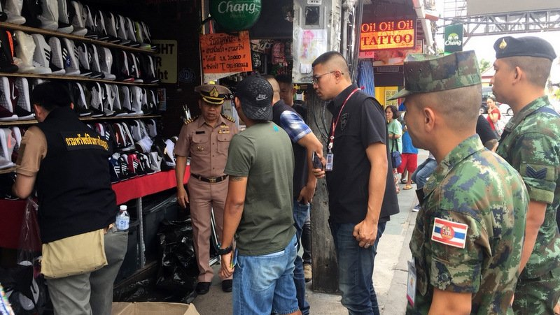 Property owners to be targetted as fake goods raids hit Patong, Central