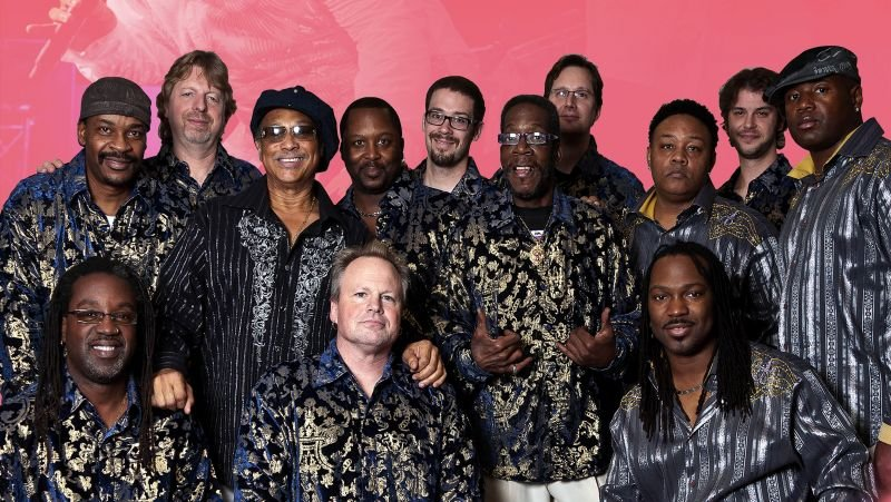 The group is considered the top funk band on the planet today.