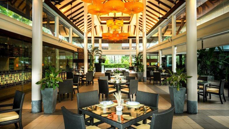 The bright and airy Seedlings restaurant. Photo: Laguna Phuket