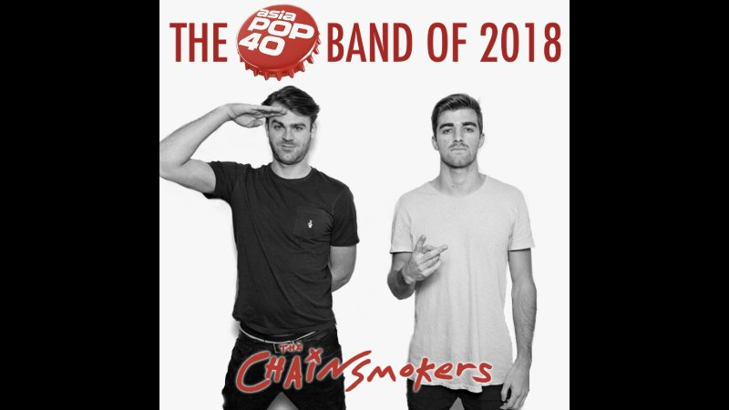 EDM-pop chart toppers The Chainsmokers were crowned No. 1 Group.