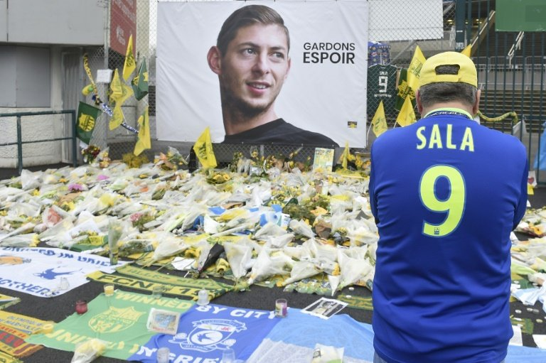 The light aircraft carrying footballer Emiliano Sala and pilot David Ibbotson to his new Premier League team Cardiff City disappeared near the island of Guernsey on January 21. Photo: AFP
