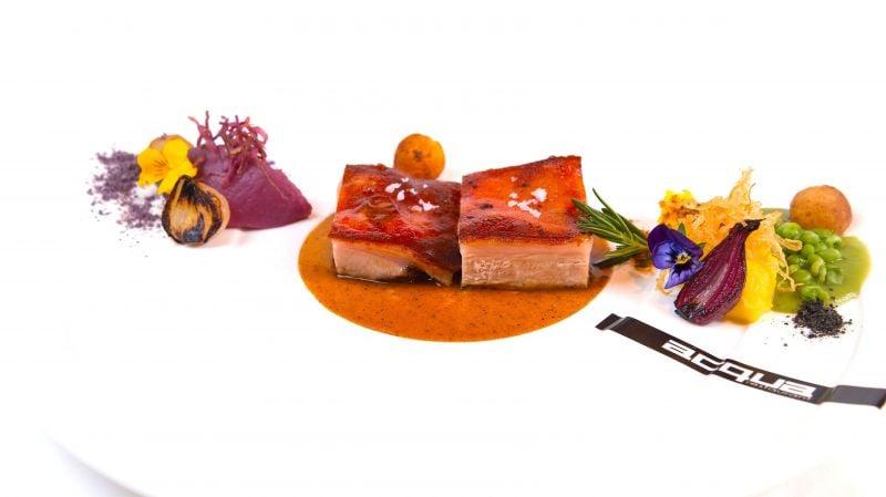 A delectable dish at the award-winning Acqua restaurant.