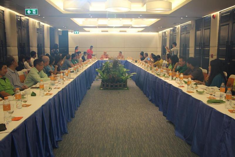 The plan was discussed, and finalised, at a meeting on Wednesday (Feb 6). Photo: PR Dept