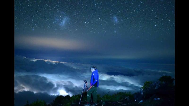 Patrick atop Mount Kerinci, Indonesia