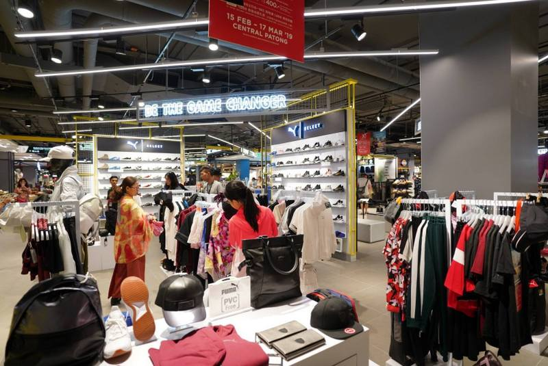 The B2-billion Central Patong shopping mall officially opened last Friday (Feb 15). Photo: Central