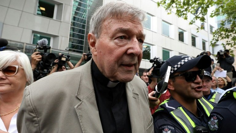 Australian pope aide Cardinal Pell convicted of paedophilia
