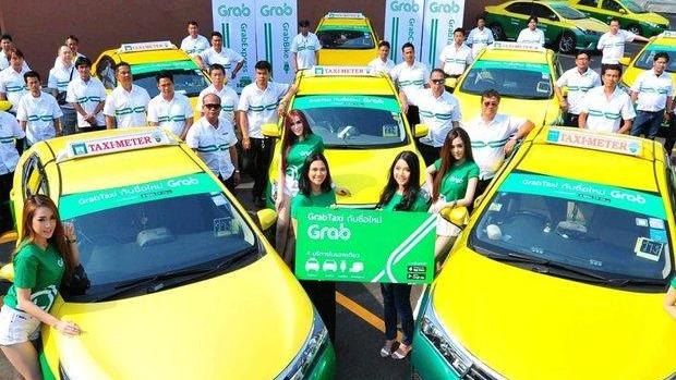 Grab and other ride-hailing services are still illegal in Thailand, but the Tourism Authority of Thailand (TAT) will try to reverse that. Photo: Grab.com