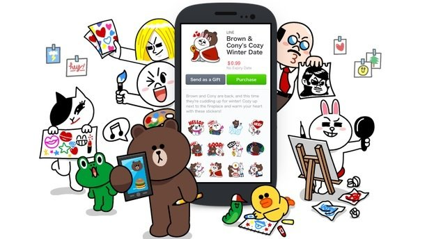 Doodler dream: Stickers are a serious business at Line