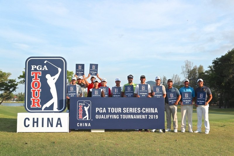 A total of 113 players of 18 nationalities took part in the PGA Tour at Laguna Golf Phuket this week, the first time the event has been held outside China. Photo: PGA TOUR Series-China / Zhuang Liu
