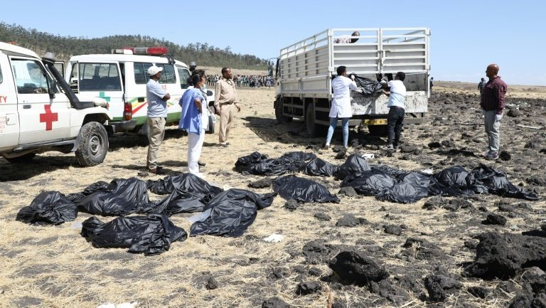 The dead included tourists, business travellers and 19 members of UN-affiliated organisations, many of whom were heading to the annual assembly of the UN Environment Programme in Nairobi. Photo: AFP