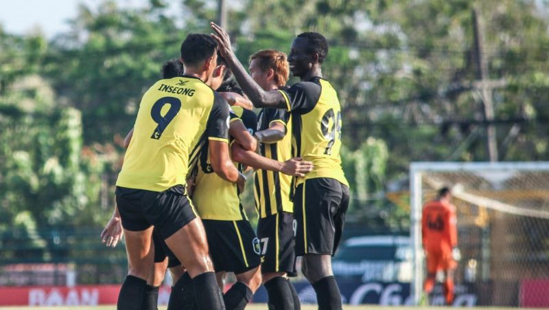 Phuket bag first league win