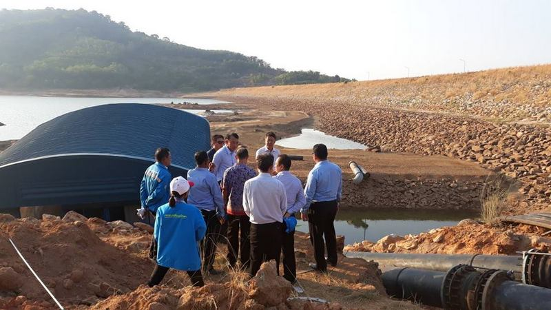 National PWA Governor visits Phuket over failing water supply