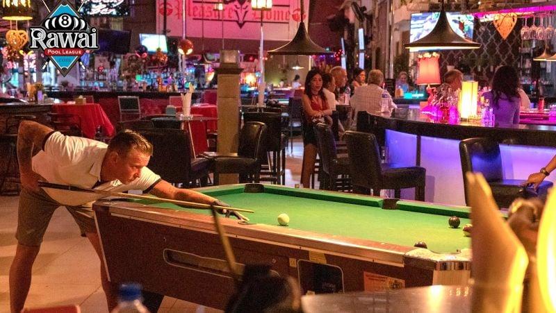 Rawai Pool League: An evening of upsets