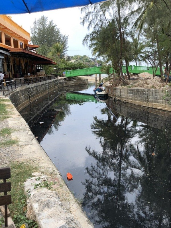 The Pak Bang Canal at the southern end of Kamala. Photo: Kamala OrBorTor