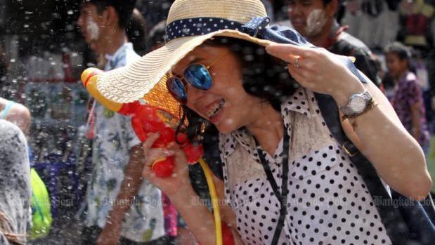 No Songkran on Khaosan Road this year