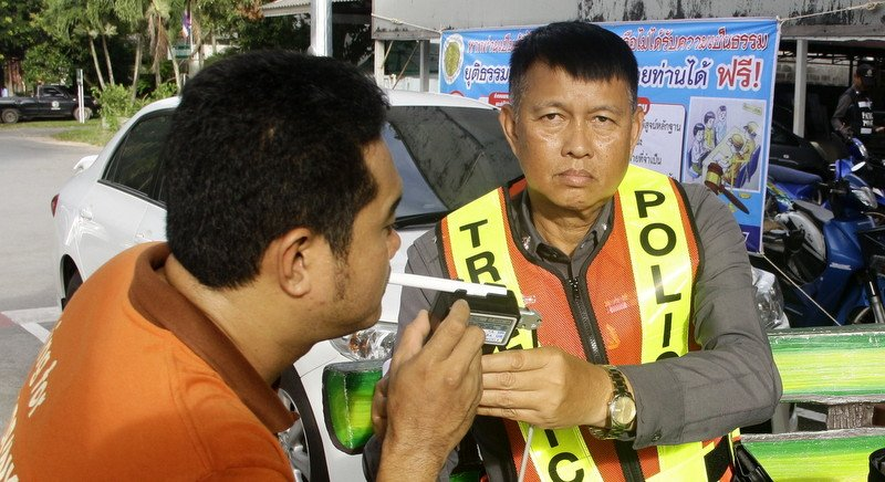 Phuket police get tough on drunk drivers