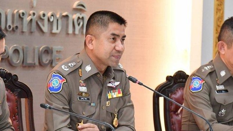 "Pol Lt Gen Surachate ""Big Joke"" Hakparn was transferred from the Immigration Bureau to the central operation centre at the National Police Office. Photo: Tourist Police"