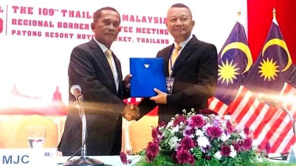 Phuket hosts 109th Thailand-Malaysia Regional Border Committee Meeting