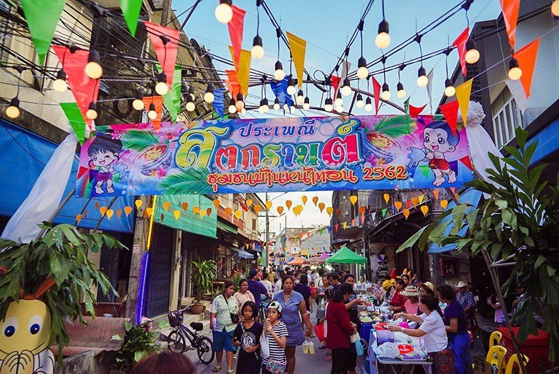 Songkran celebrations this year brought a welcome boost in tourism arrivals and spending. Photo: TAT